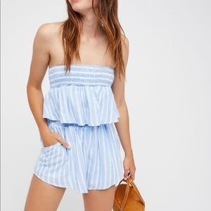 NWOT Free People We The Free Up And Away Set